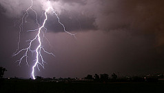 Father, son killed by lightning strike...