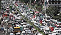 Private cars carry 5% passengers, occupy...