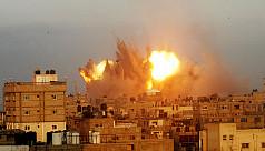 Israel strikes Gaza mosque, death toll...