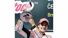 Marquez run ends as Pedrosa  wins Czech...