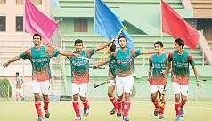 Bangladesh hit Thailand for five in...
