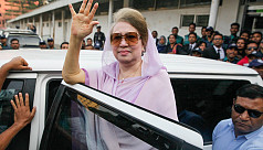 Two factors behind Khaleda's release
