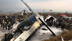 US-Bangla plane crash: Govt declares...