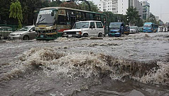 In pictures: Heavy rain submerges...