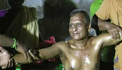 66-year-old Khitindra swims 146km in...