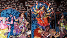 Durga Puja ends with immersion of...