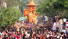 In pictures: Mongol Shobhajatra procession...