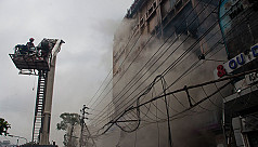 In pictures: Uttara fire
