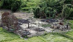 HRW: 40 Rohingya villages burned since...