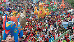 Public celebrations on Pohela Boishakh...