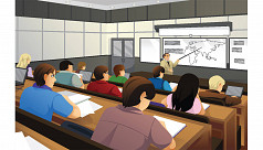 A Typical University Classroom