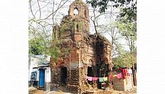 12th century temple structures on verge...