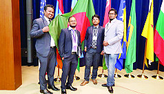 Youth entrepreneurs represent Bangladesh...