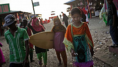 Bangladeshi surfer girls go against...
