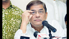 Fakhrul breaks down at press...
