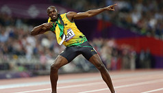 Bolt wins but hurdler Harrison takes...