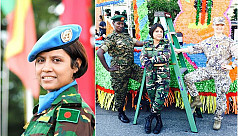 Maj Sanjida first female officer to...