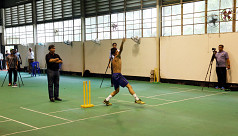 Bowlers' report in two weeks