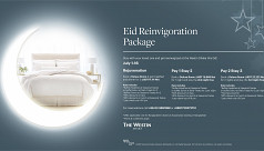 Eid reinvigoration package at the Westin...