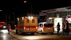 German police kill train axe...