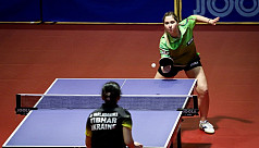 Syria's first table tennis Olympian...
