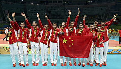 Chinese women win gold in clash with...
