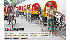 Diplomatic zone gets special rickshaws,...