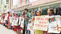 Students unite across Bangladesh against...