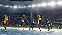 Bolt wins Olympic 100m gold