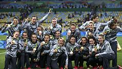 Germany take women's football gold