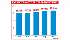 Pvt sector credit sees steady...