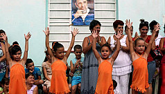 Changing Cuba pays homage to Fidel Castro...