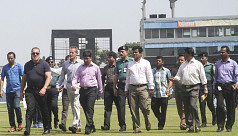 England cricket delegation positive...