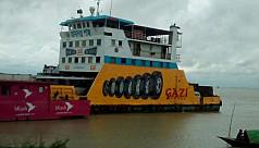 Paturia-Daulatdia ferry service...