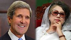 John Kerry to meet Khaleda Zia...
