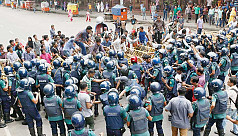 Rampal protests block Shahbagh...