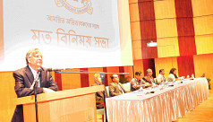Special meeting held with parents at...