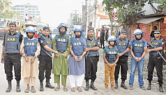 Five JMB men caught in Gazipur