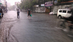 Heavy rainfall paralyses normal life...