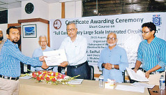 Certificate awarding ceremony at...