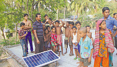 Creating solar villages in...