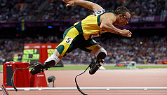 Track star Pistorius treated in hospital...