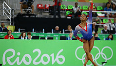 Biles wins record-equalling fourth gold...