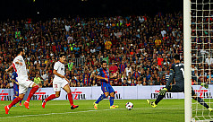 Marvellous Turan fires Barcelona to...