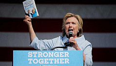 Hillary Clinton is sinking in the...