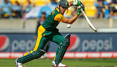 De Villiers back from injury to face...