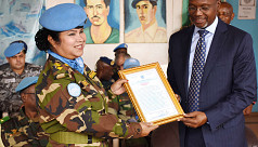 Army Colonel honoured by UN
