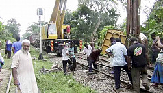 Rail links with Sylhet resume after...