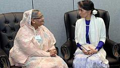 Suu Kyi seeks Hasina's assistance to...