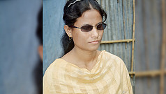 Visually-impaired Sumaiya struggling...